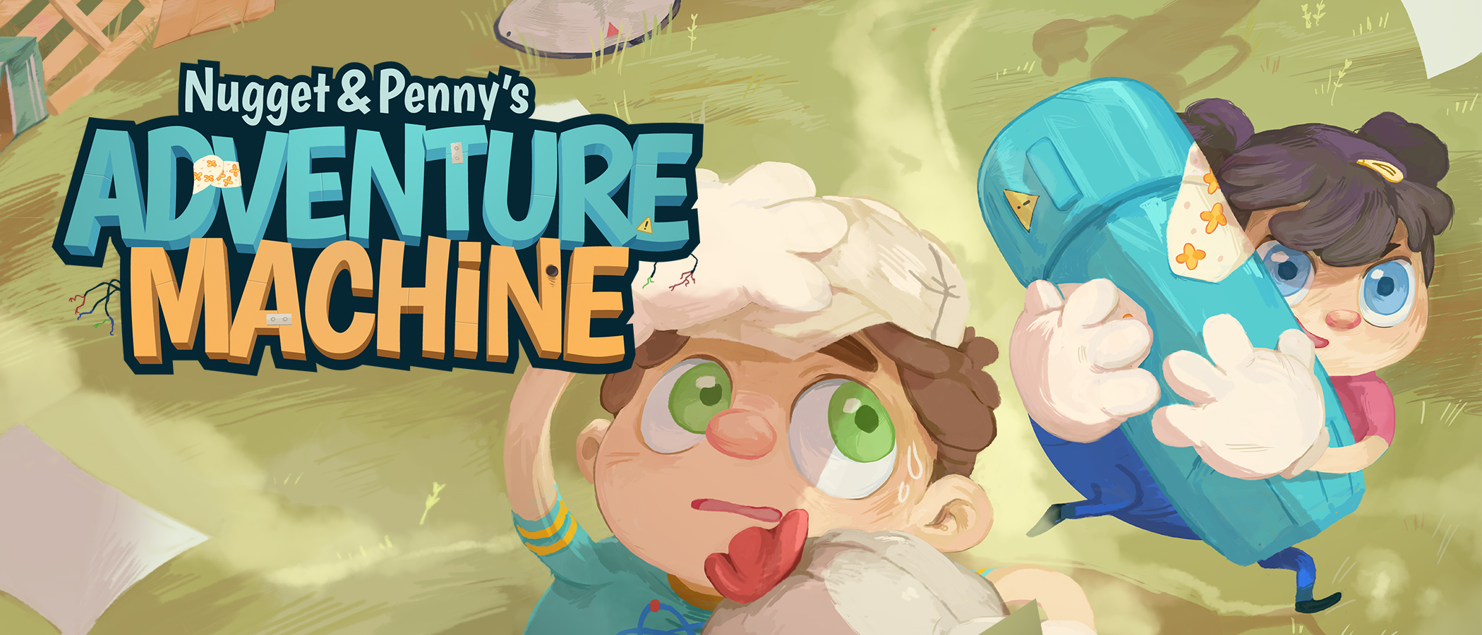Nugget & Penny – Adventure Machine