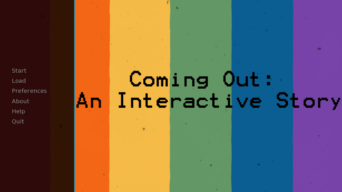 Coming Out: An Interactive Story