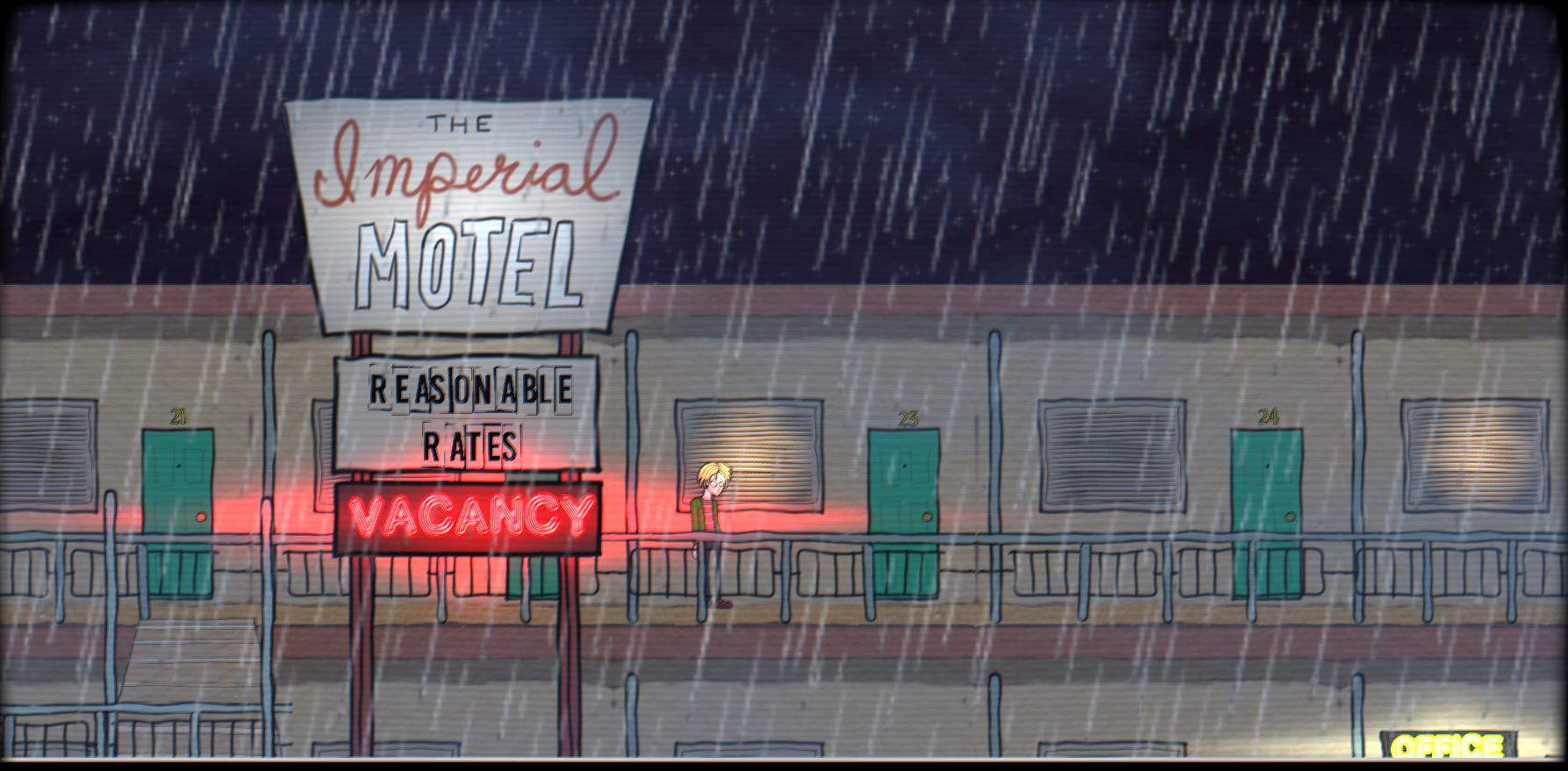 One Night at the Imperial Motel