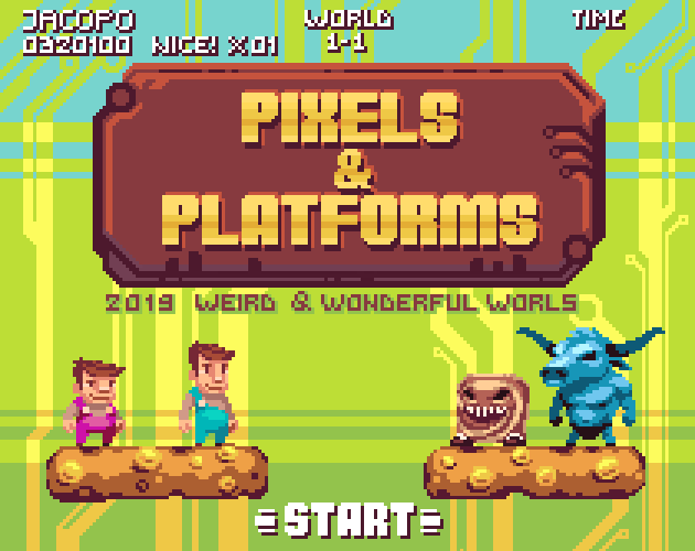 Pixels & Platforms: The Platform Crawl RPG - Release