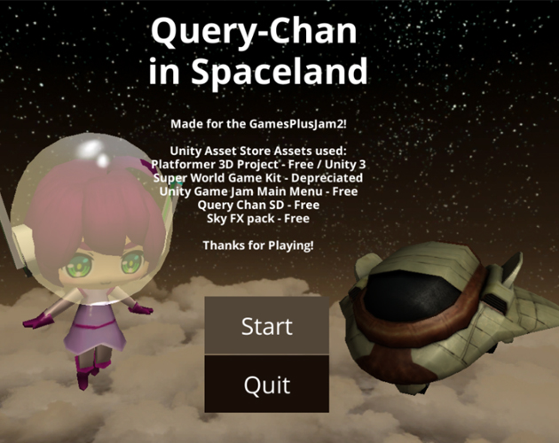 Query Chan in Spaceland by sketche99