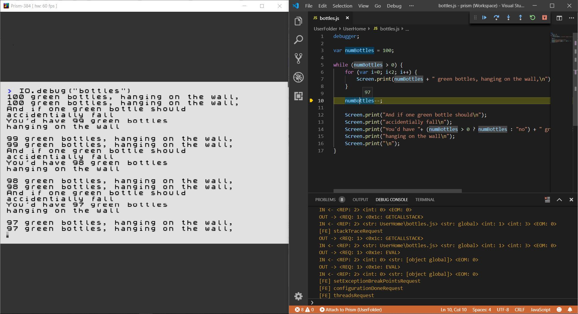 Build 2944 - Raspberry Pi and VS Code Debugging - Prism-384