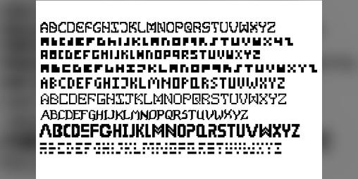 Top game assets tagged fonts - itch io