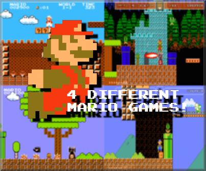 Super Mario Bros Lost-Land by BloodserGames