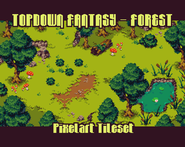New Pack Series - Top Down Fantasy - Forest - Topdown
