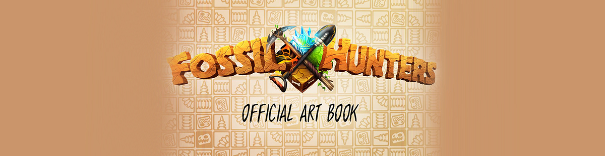 Fossil Hunters: Artbook