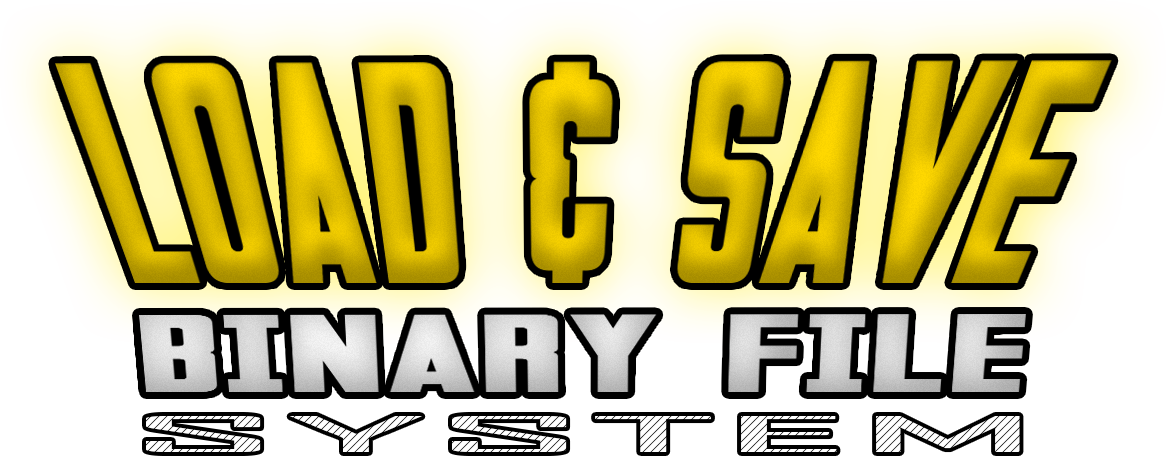 Load & Save Binary System