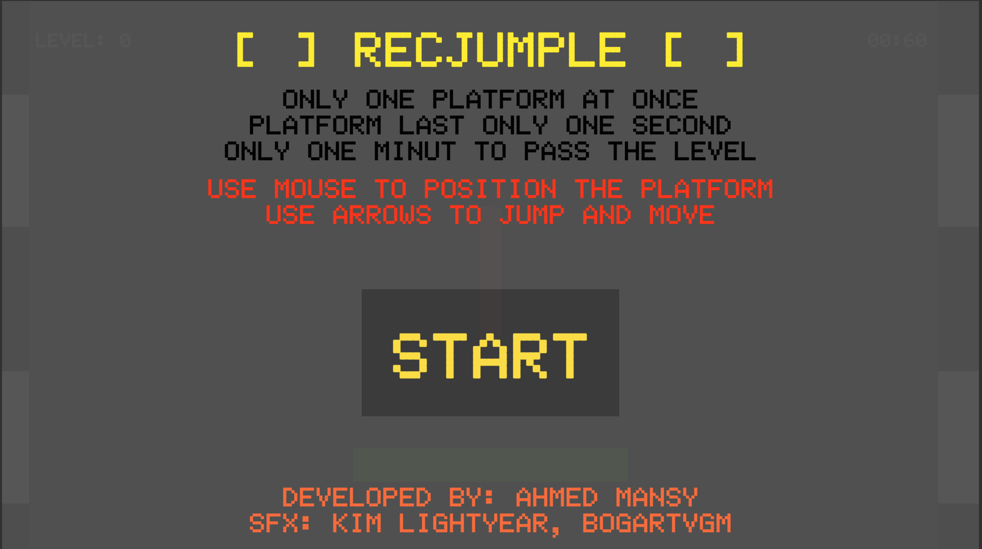 Recjumple by AhmedMansy for GMTK Game Jam 2019 - itch io