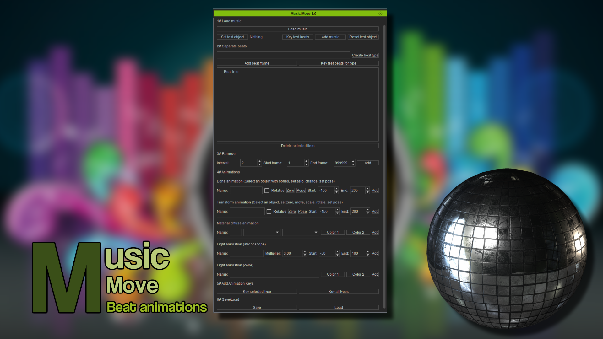 Music Move (iClone7 Plugin)