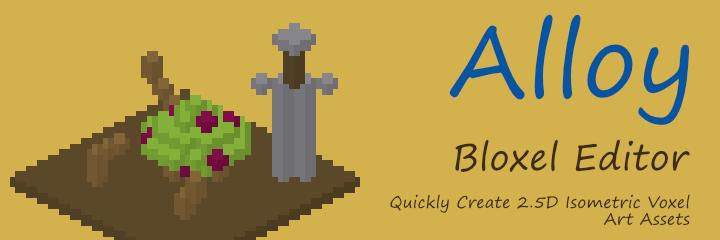 Alloy Bloxel Editor
