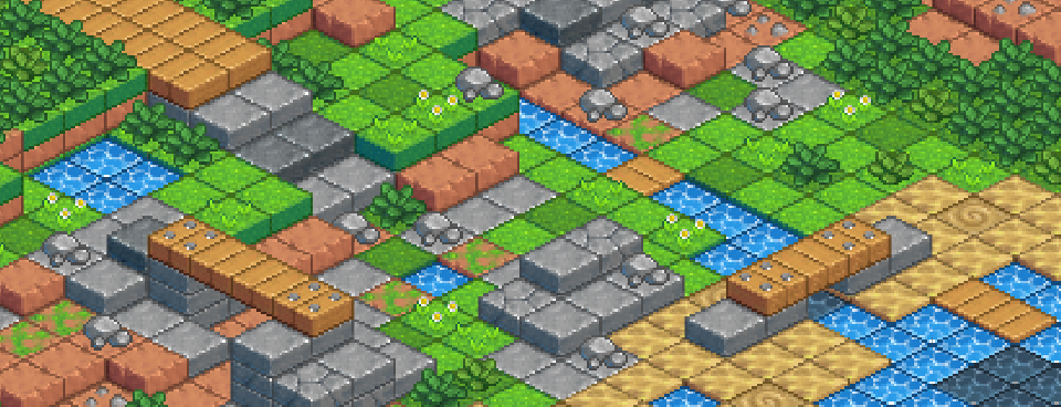 Isometric Level Tileset