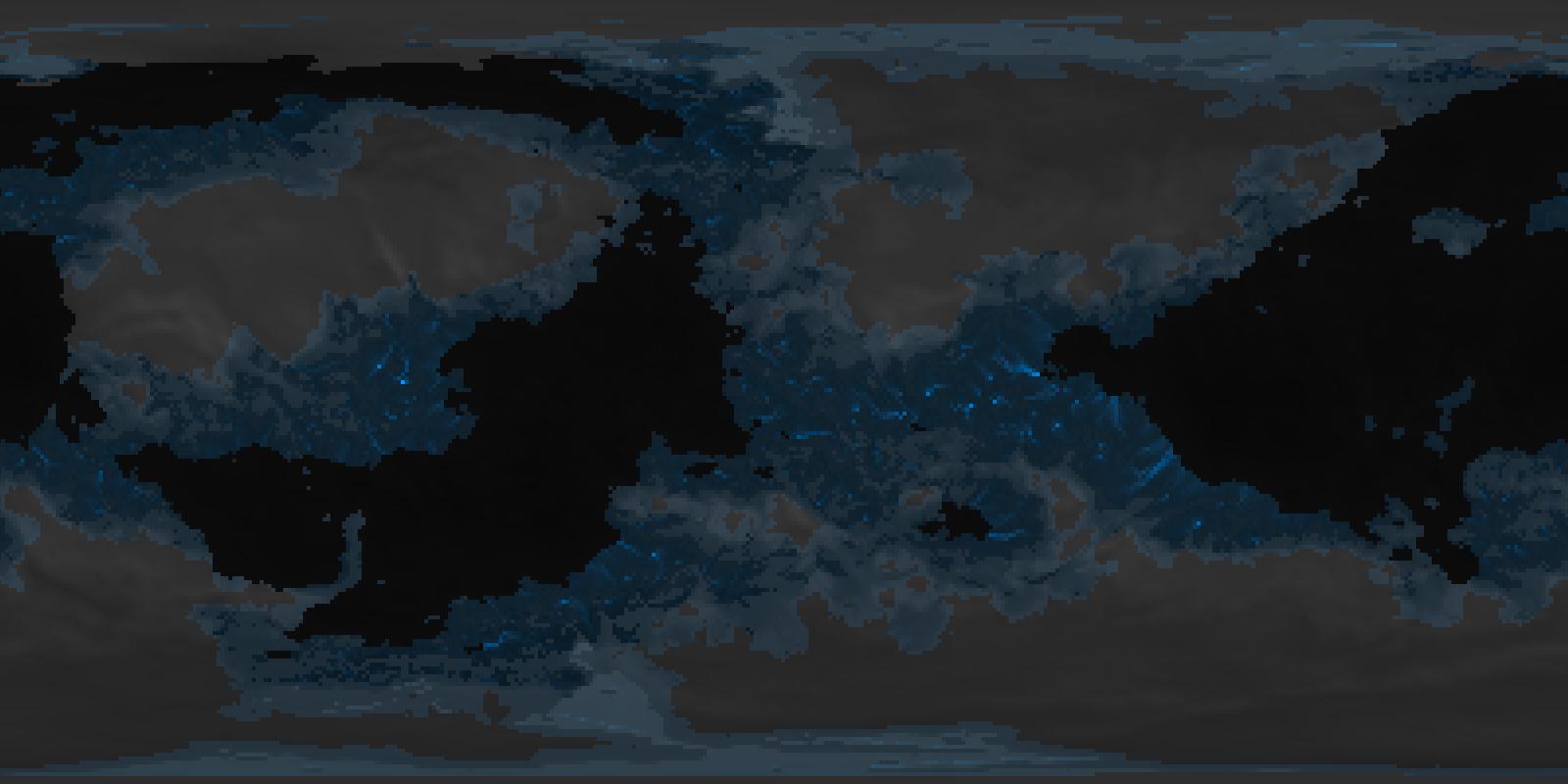 Drainage Basins - Worlds: History Simulator by DrTardigrade