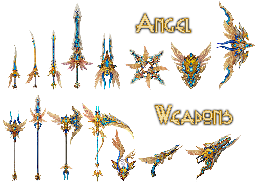 Angel Weapons
