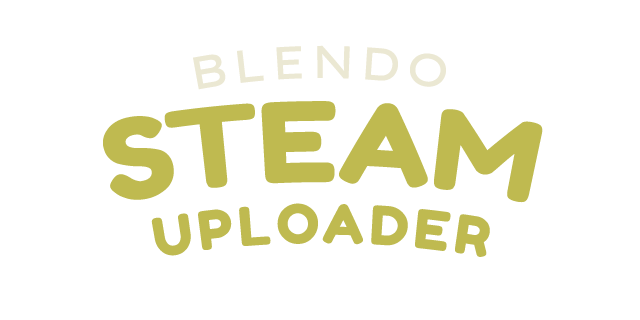 Blendo steam uploader