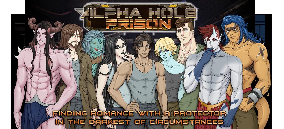 Alpha Hole Prison - Adults Only 18+ BL, Yaoi, Gay, Bara Visual Novel / Dating Sim