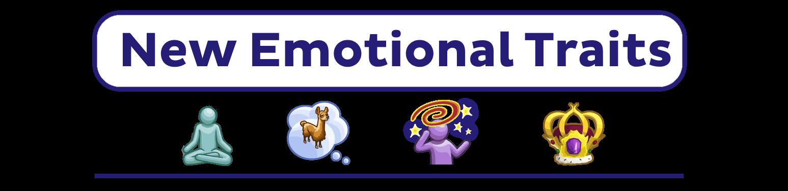 New Emotional Traits