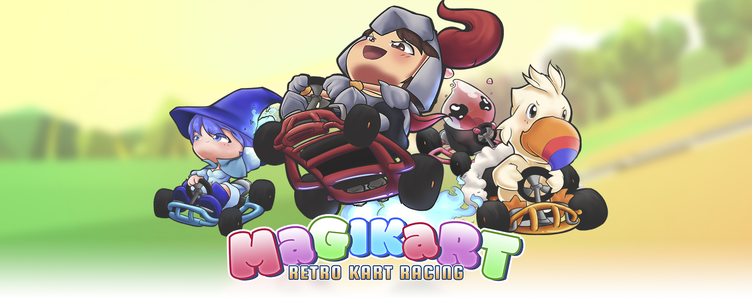 MagiKart: Retro Kart Racing
