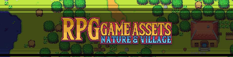 Nature & Village RPG Game Assets
