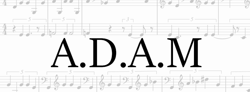 A.D.A.M - ANN Music Generator