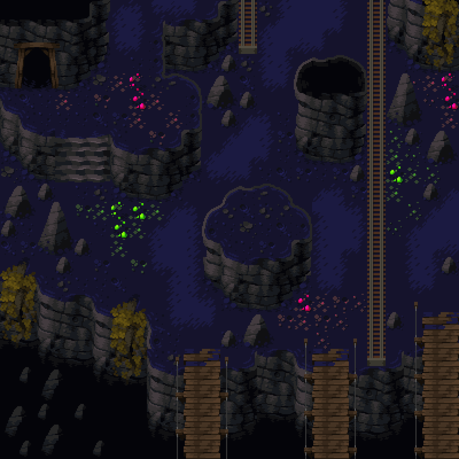 Green Lands - Cave