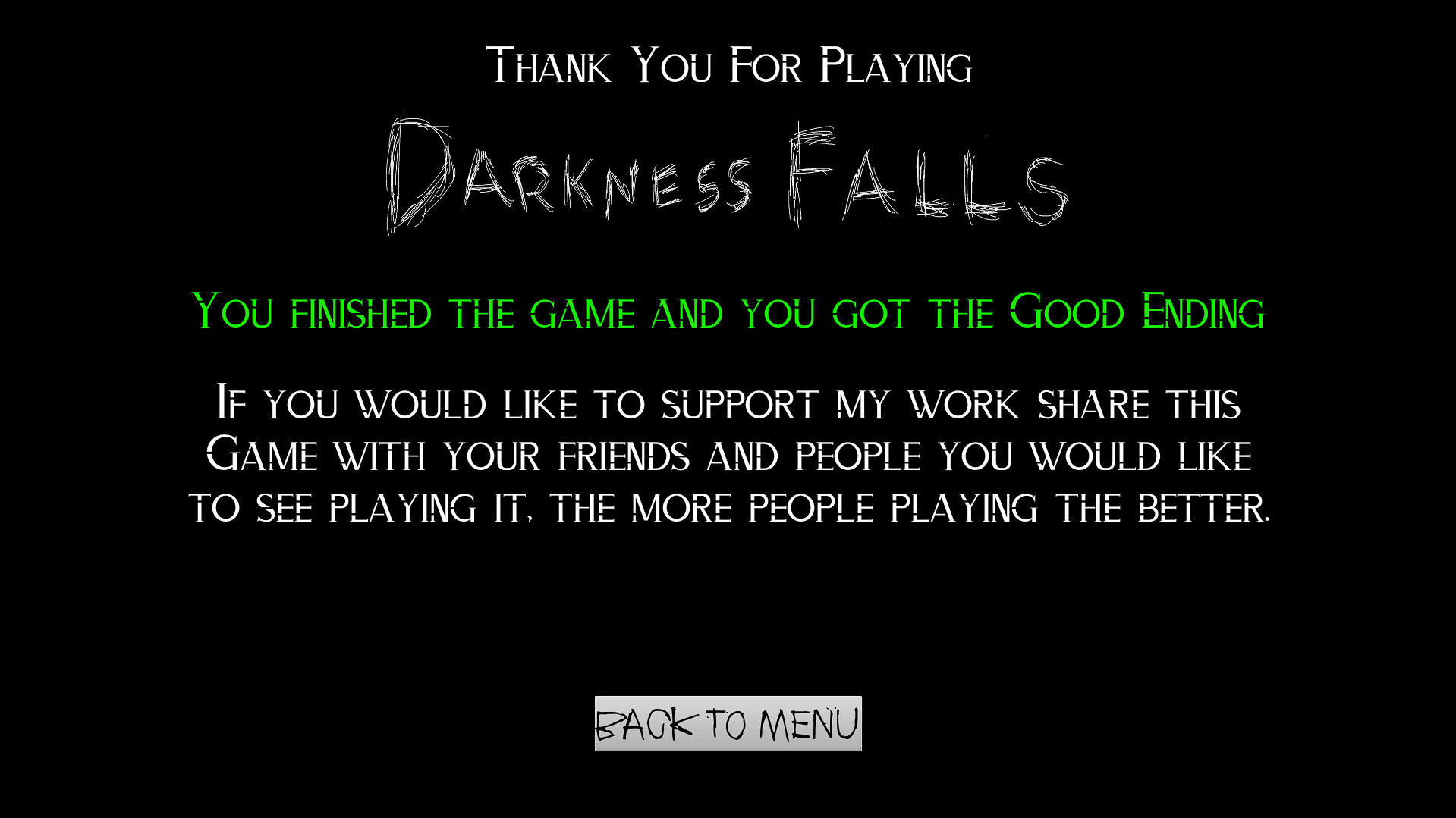 Darkness Falls The Game By Digimage