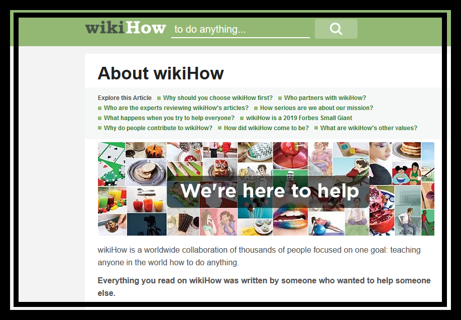 About WikiHow