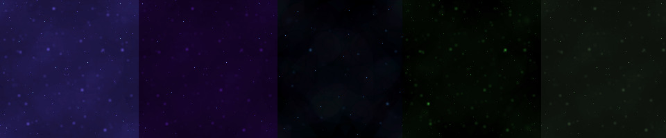50+ X&Y Repeat Space Backgrounds!
