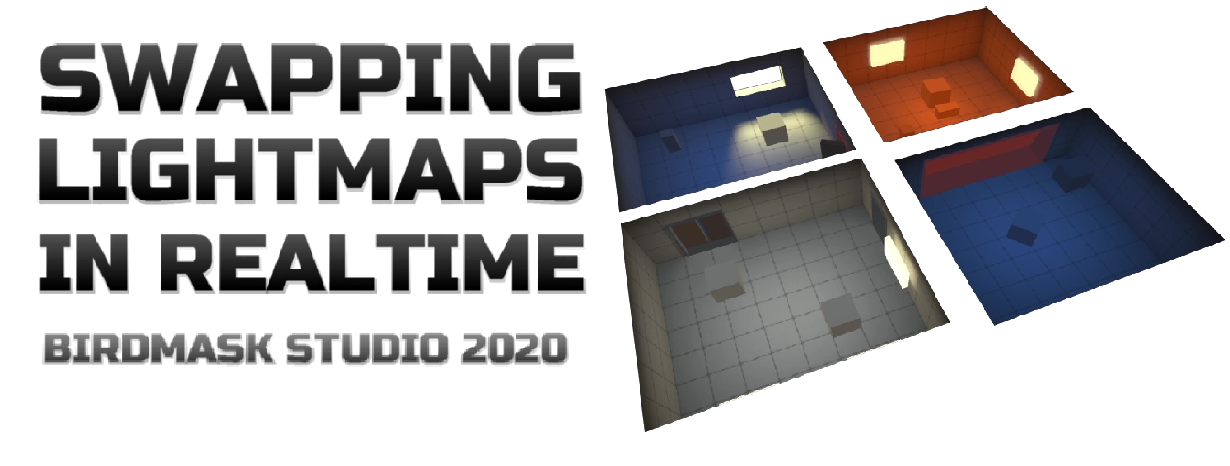 Unity3D: Swapping Lightmaps In Realtime