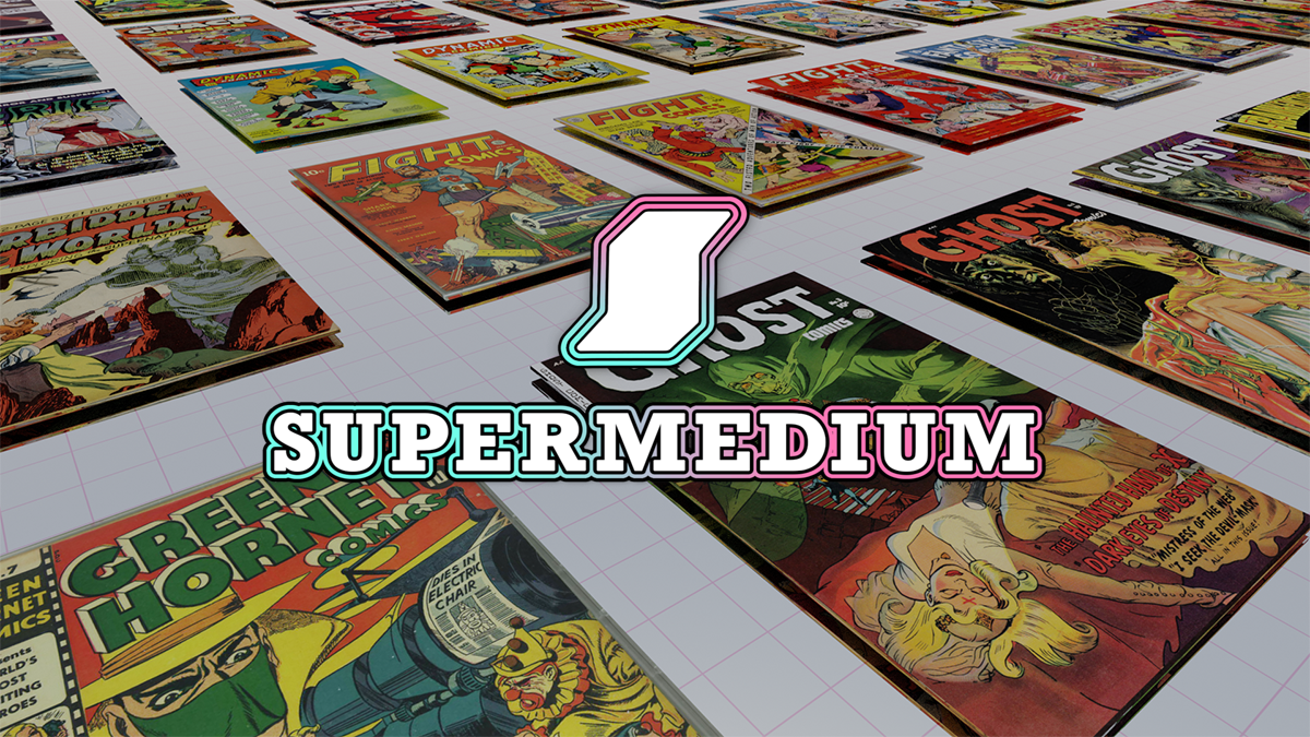 Supermedium: The VR Comic Book Reader
