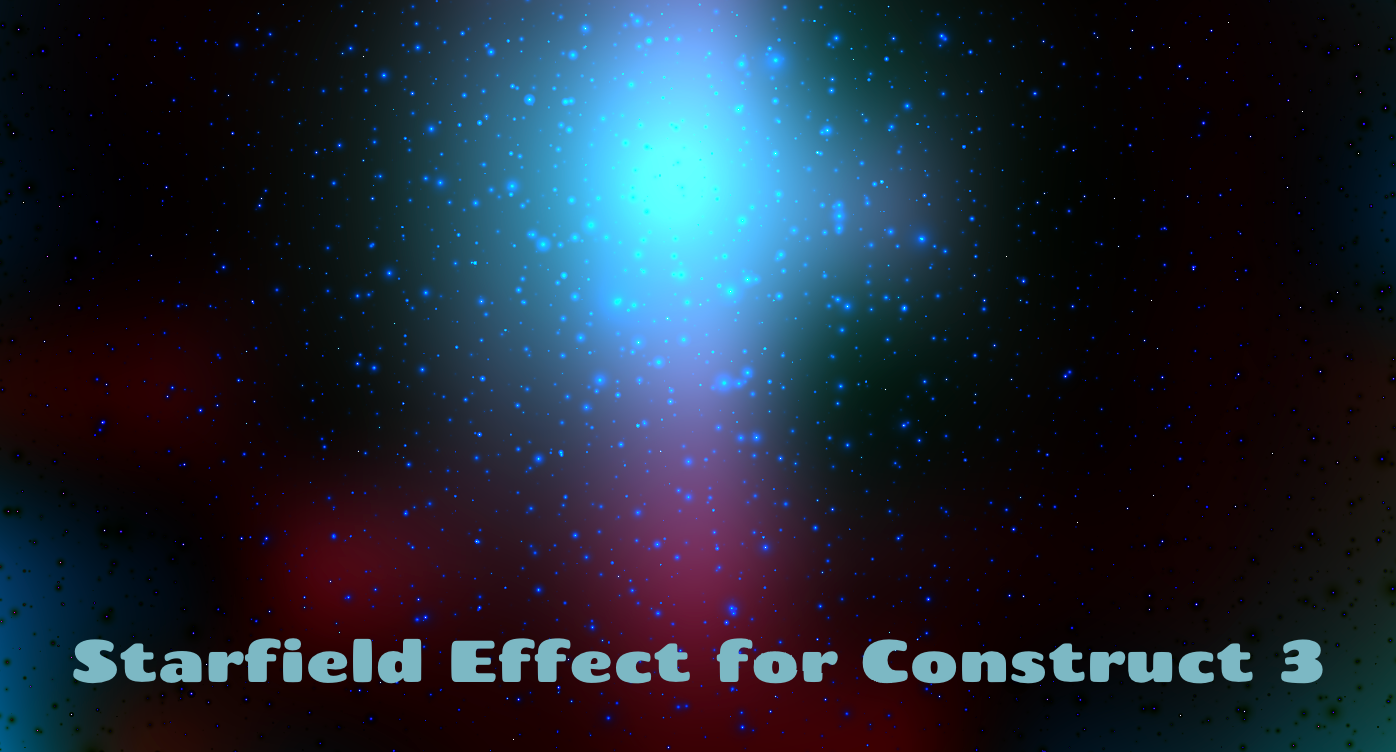 Starfield Clouds Effect for Construct 3