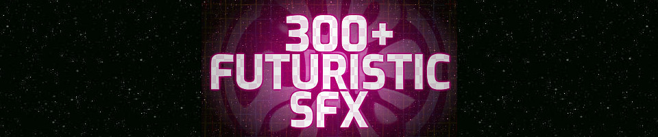 300+ Futuristic SFX with names (strategy game sound effects)