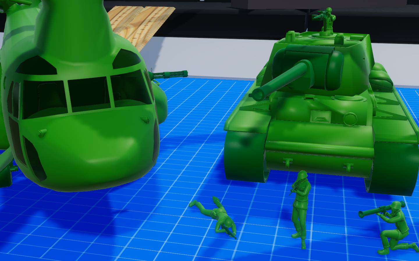 Devlog #10 KV-1 Heavy Tank, Chinook, Army Men Cover Animations