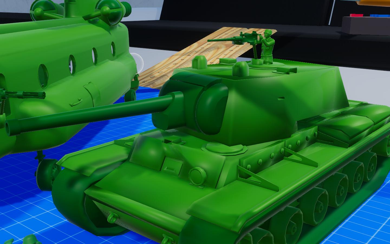 KV-1 Heavy Tank (Kliment Voroshilov Tank)
