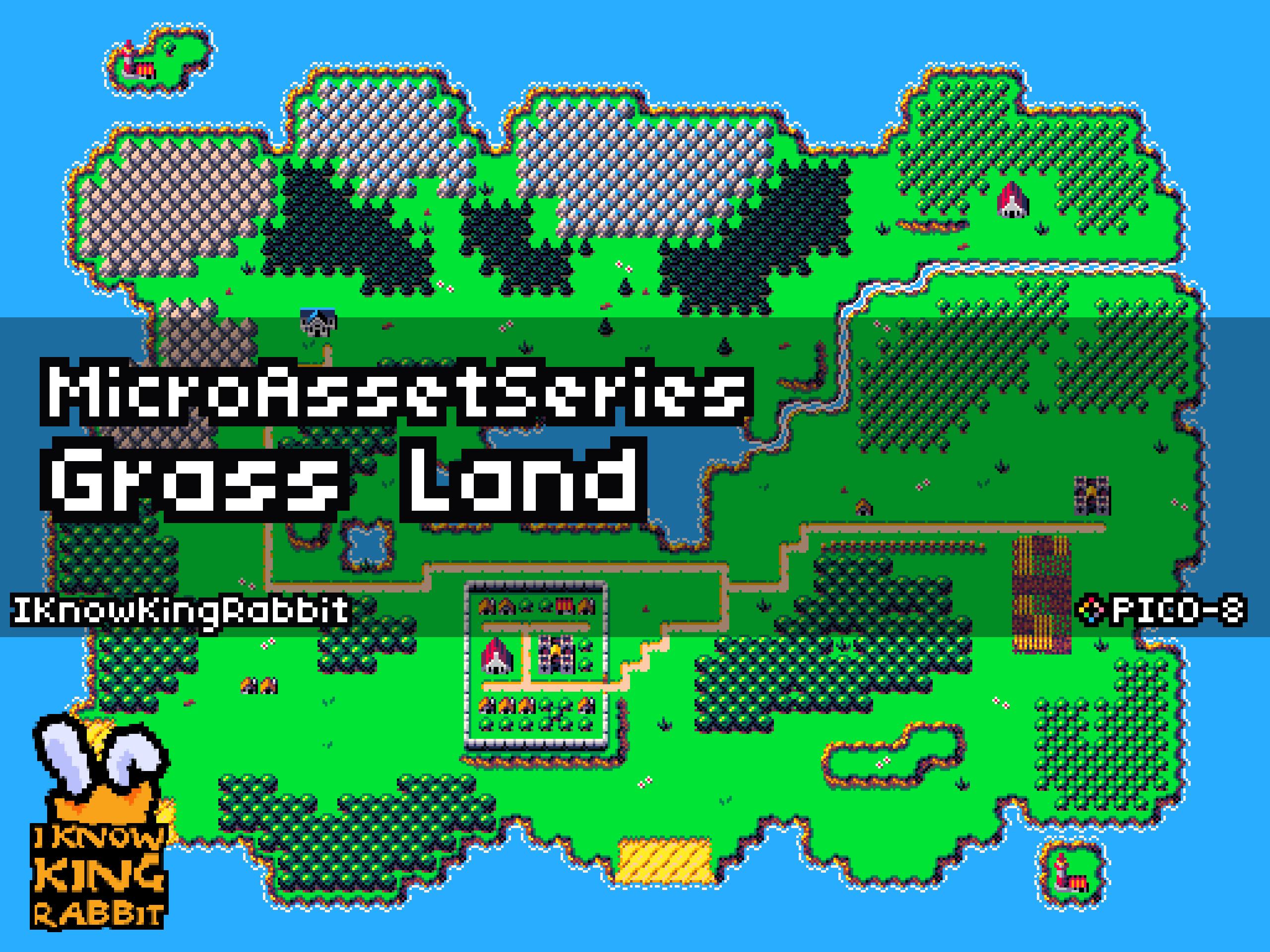 Micro Asset Series: Grass Land