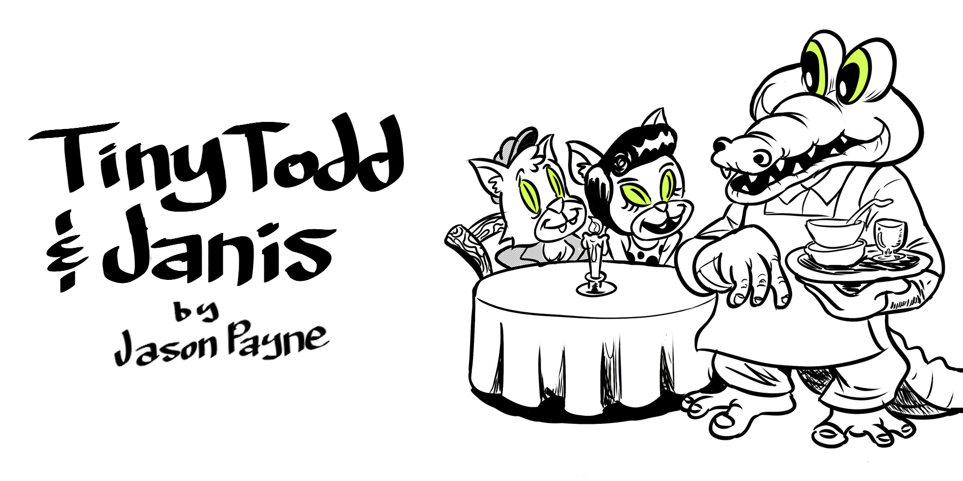 Take What You Need: The Complete Tiny Todd & Janis Stories from 2014-2016
