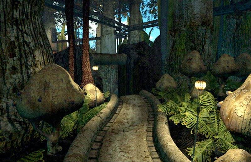Screenshot of Riven, a game from 1997