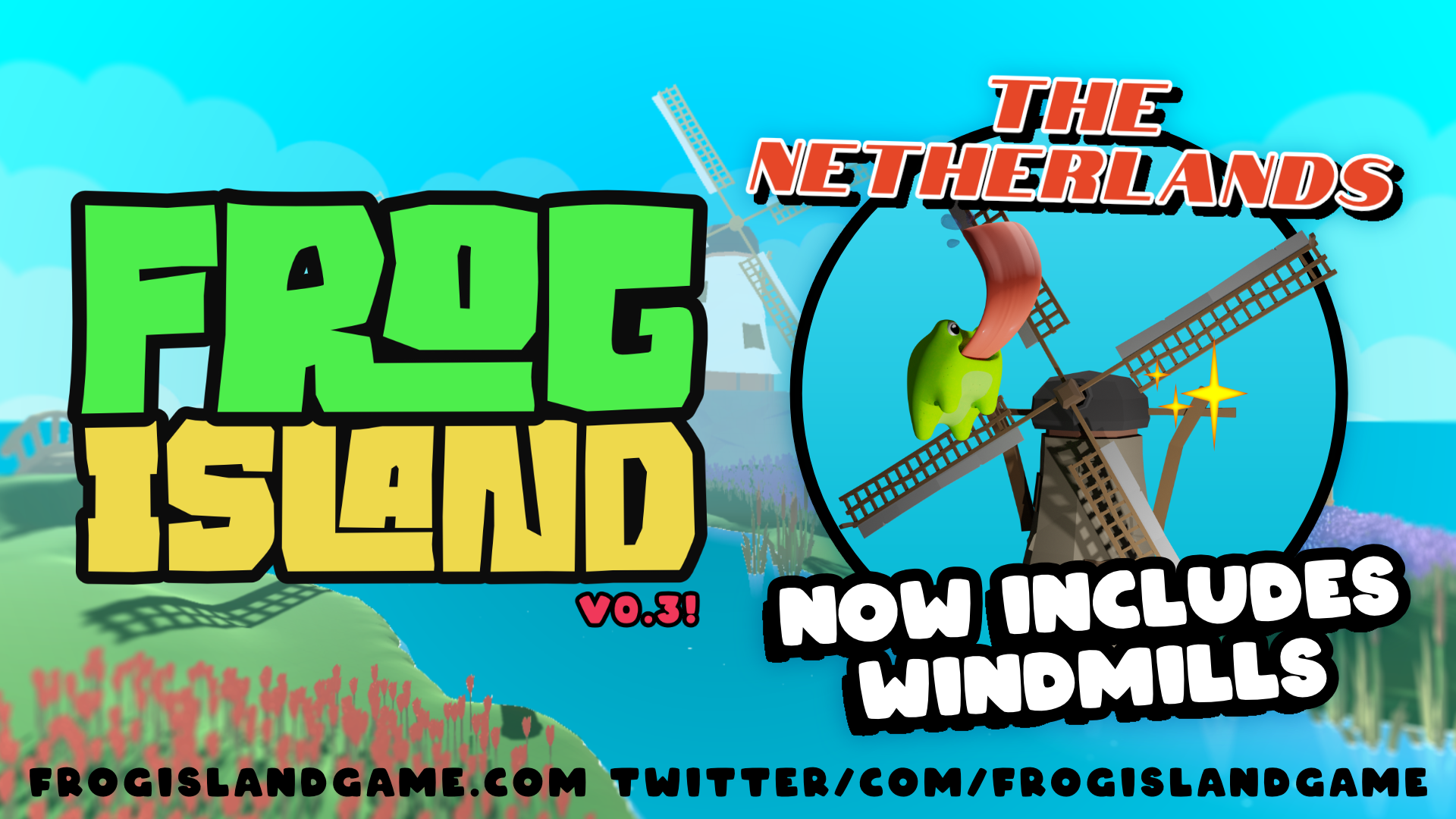 Frog Island Version 0.3 : The Netherlands