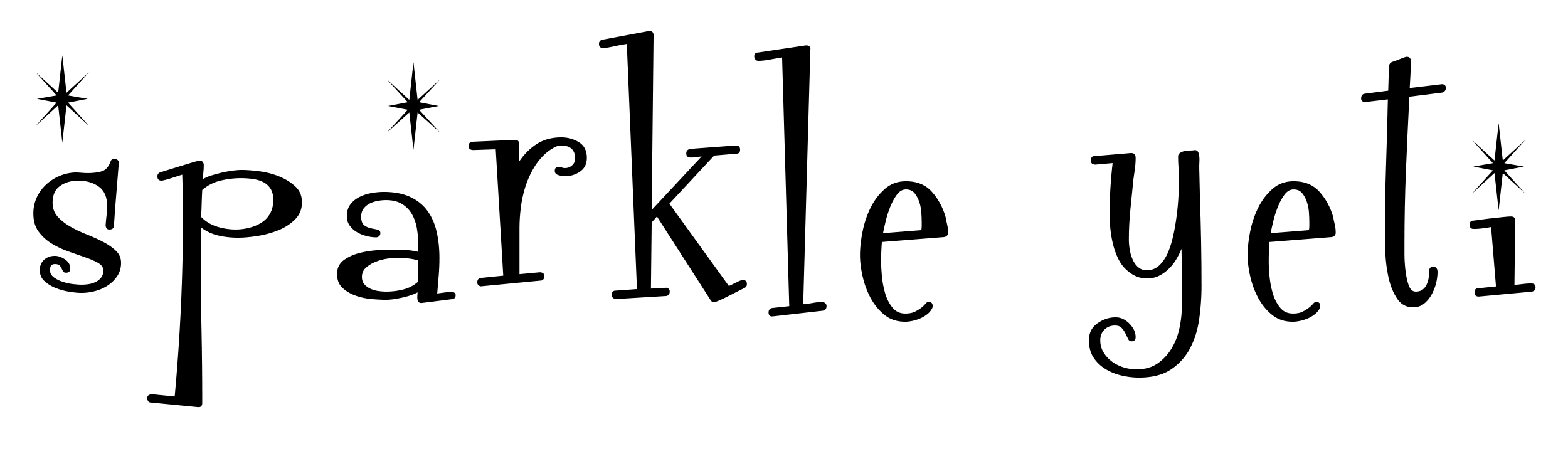 Sparkle Yeti