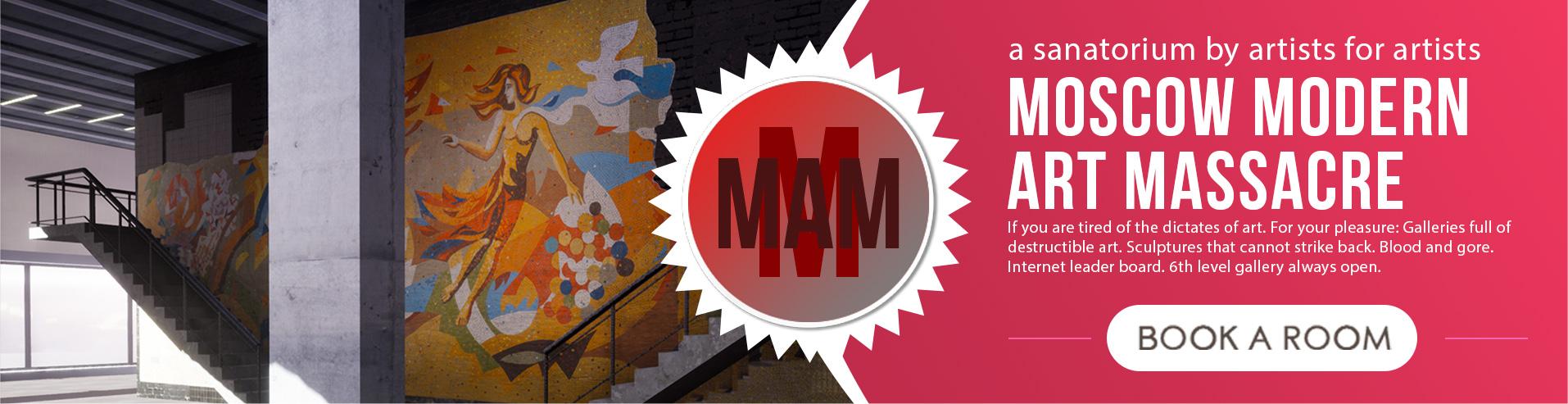 Moscow Modern Art Massacre - a shooter by artists for artists