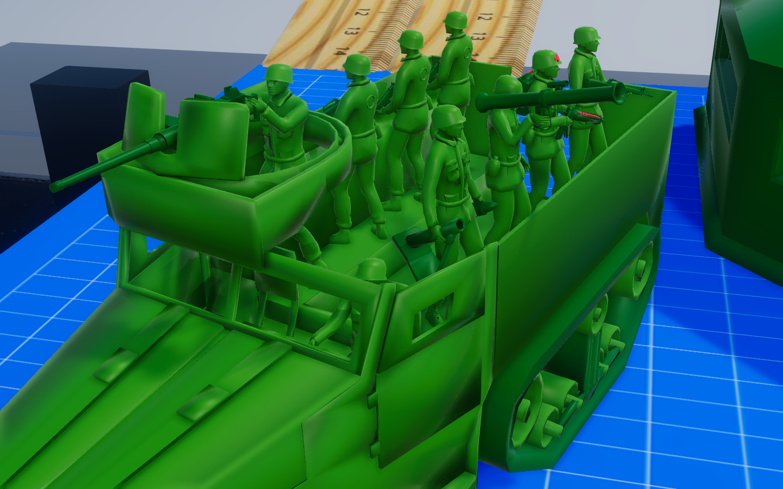 M3 Half-Track Squad