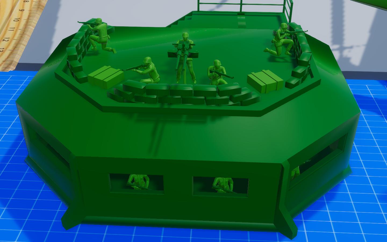 Pillbox Squad + Twin M2 Browning
