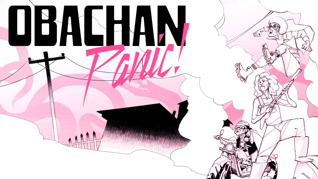 Obachan Panic By Flyaturtle