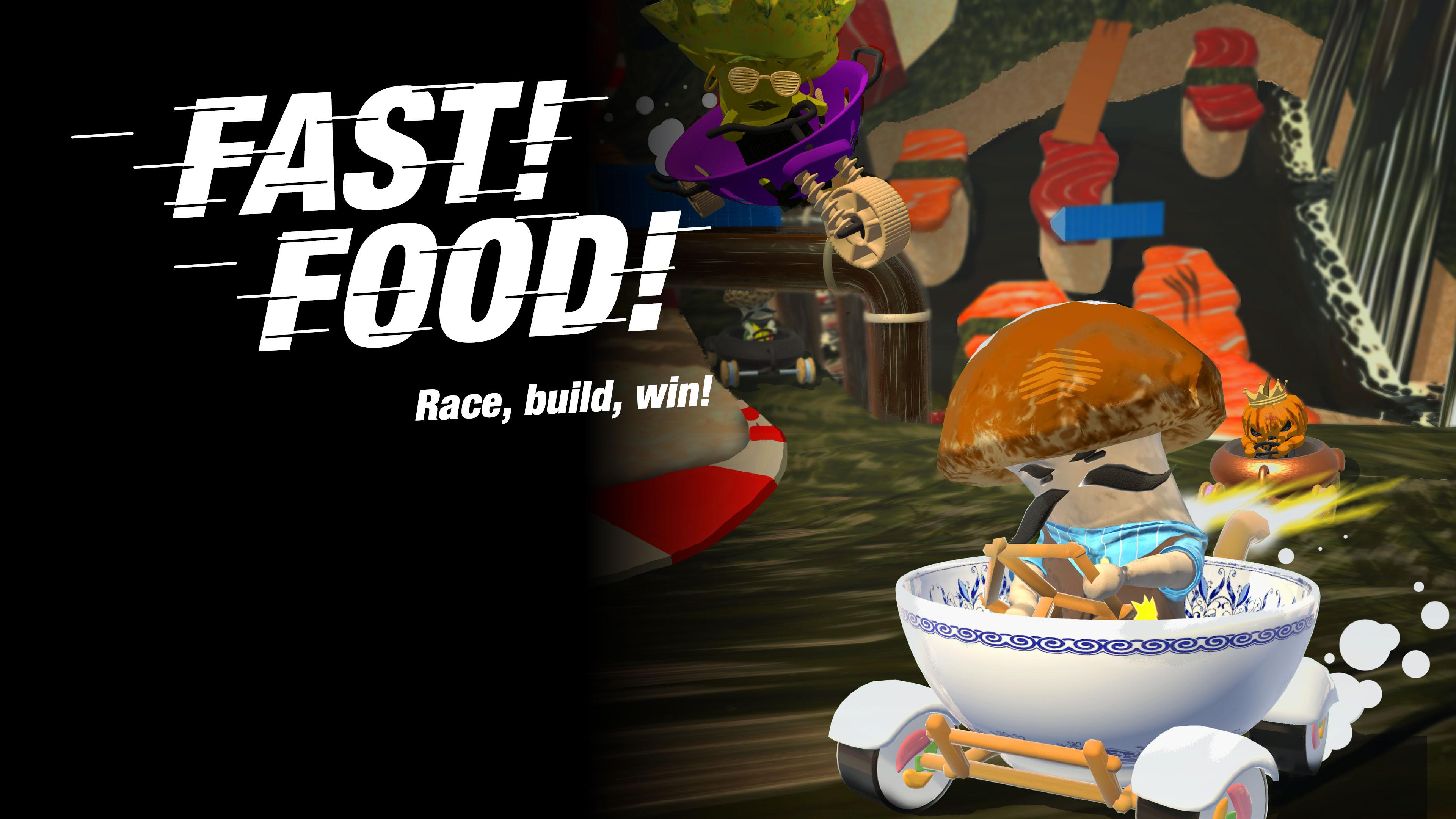 Fast! Food!