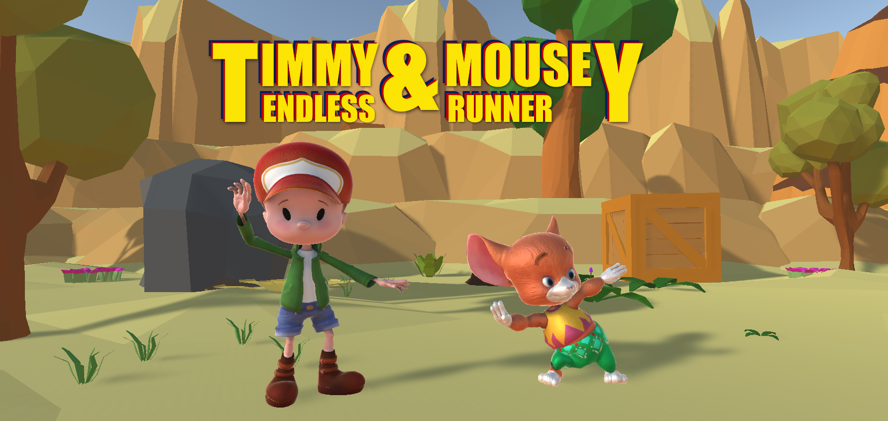 Timmy & Mousey - Endless Runner