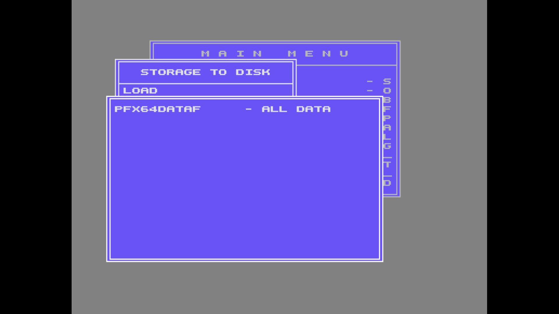 My Game's DATA Files for SEUCK (C64).