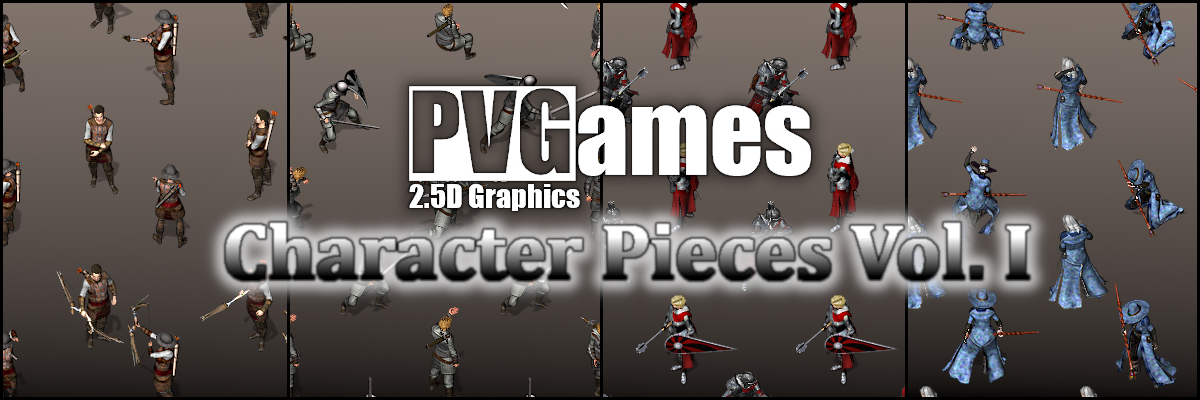 2.5D Character Pieces Vol. I
