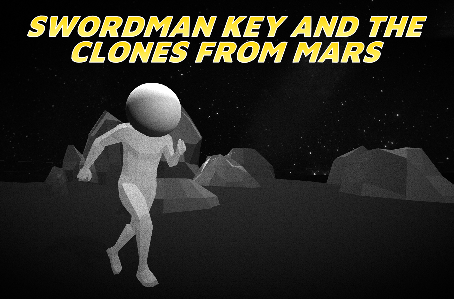 SWORDMAN KEY AND THE CLONES FROM MARS