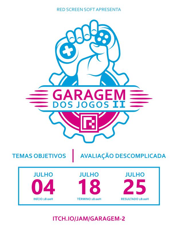 Garagem dos Jogos - #JAM G7AxqA