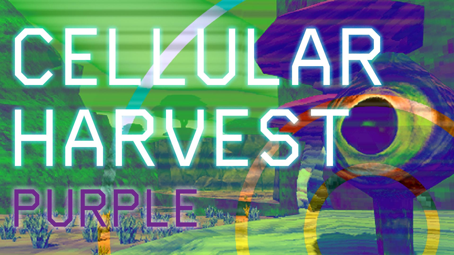 Cellular Harvest: Purple
