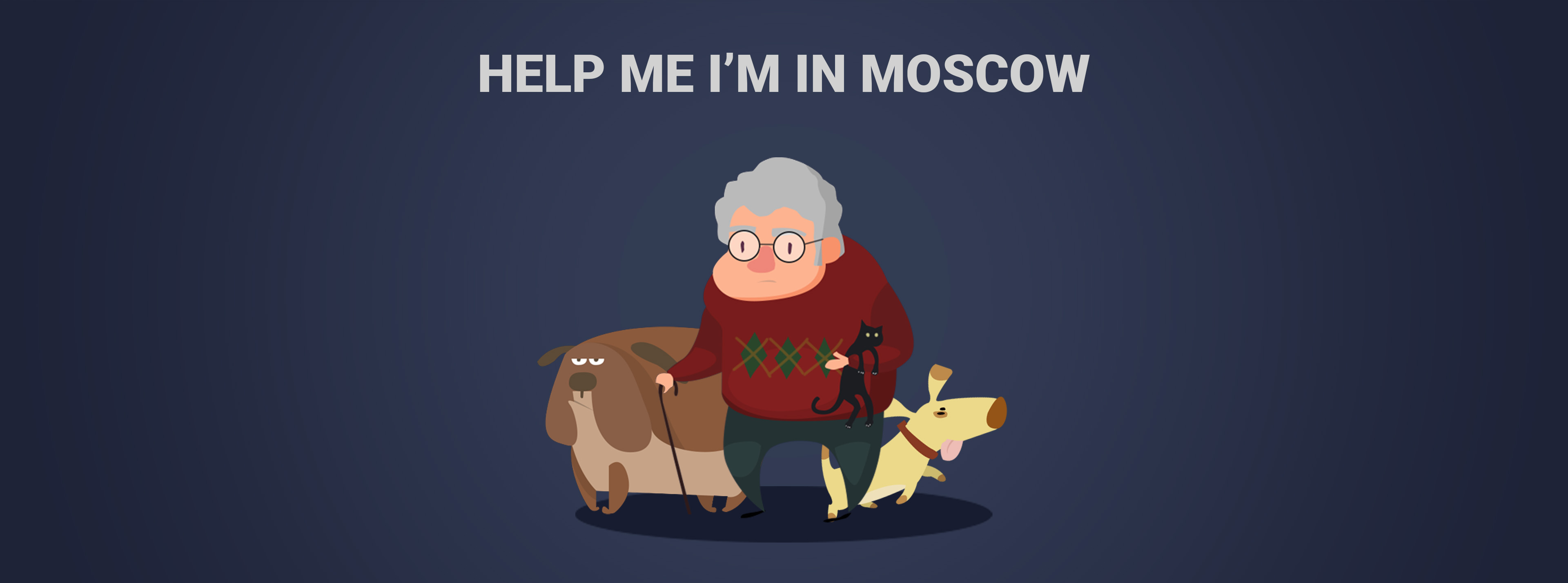 Help Me I'm In Moscow